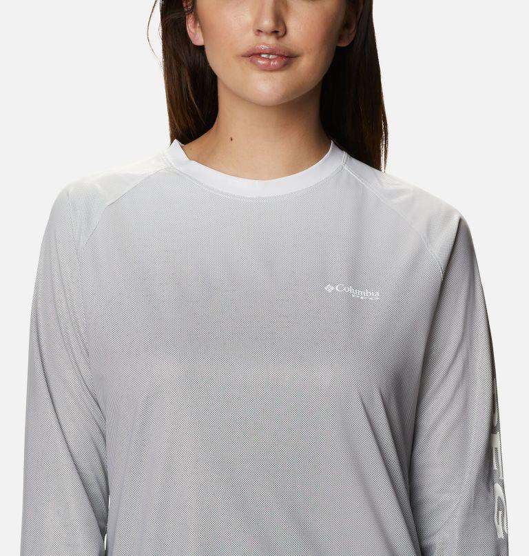 Tidal Deflector™ Long Sleeve | 011 | L Women's PFG Tidal Deflector™ Long Sleeve Shirt, Black Gradient, a2