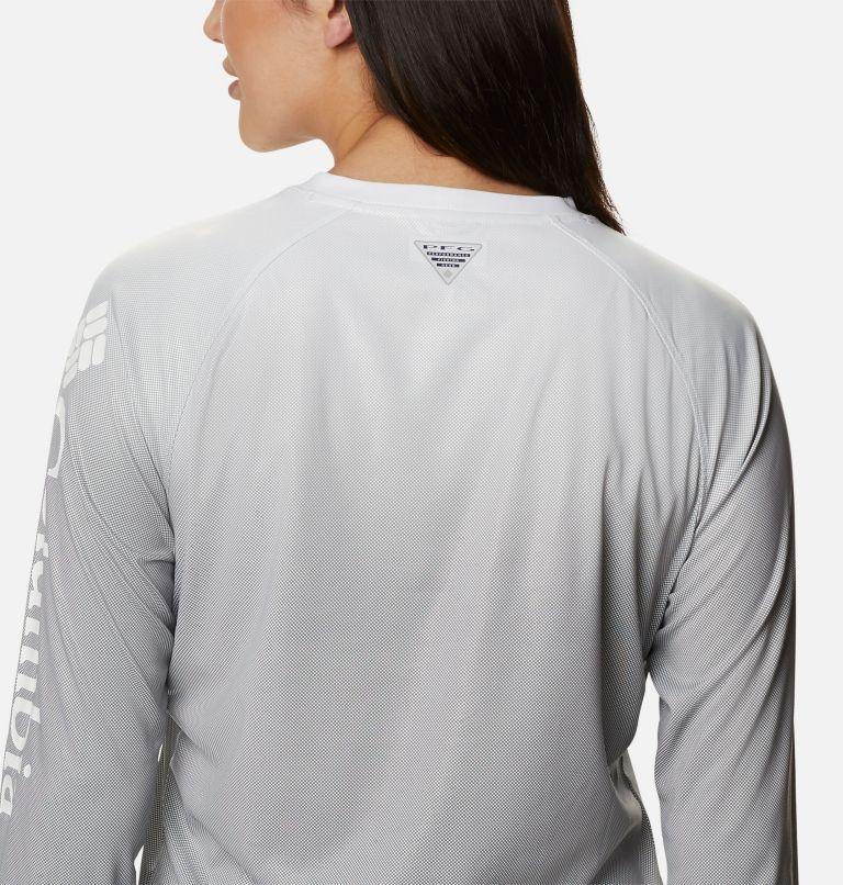 Tidal Deflector™ Long Sleeve | 011 | L Women's PFG Tidal Deflector™ Long Sleeve Shirt, Black Gradient, a3