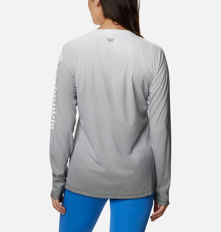 Tidal Deflector™ Long Sleeve | 011 | L Women's PFG Tidal Deflector™ Long Sleeve Shirt, Black Gradient, back