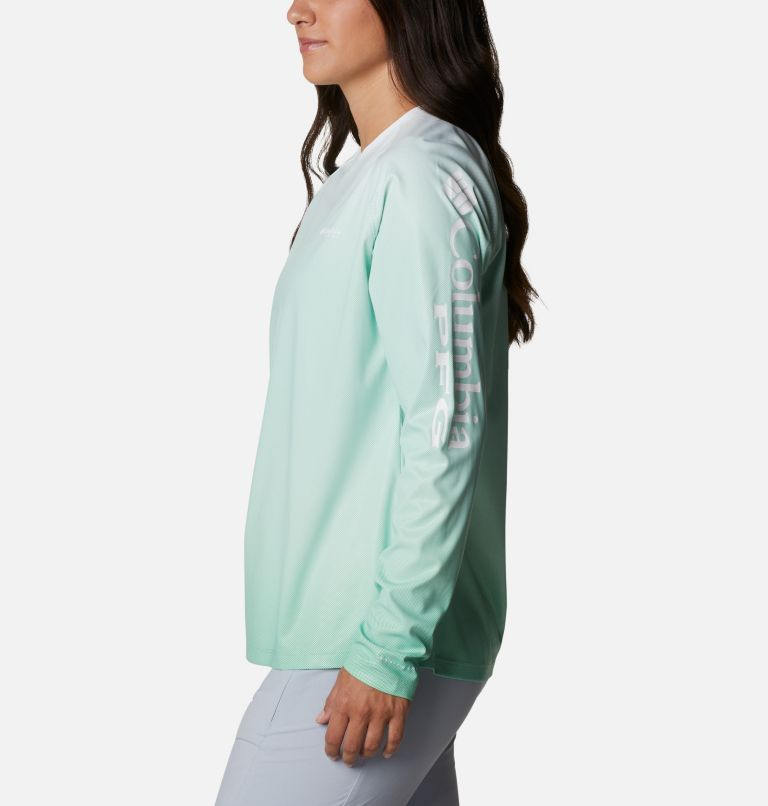 Tidal Deflector™ Long Sleeve | 322 | L Women's PFG Tidal Deflector™ Long Sleeve Shirt, Kelp Gradient, a1