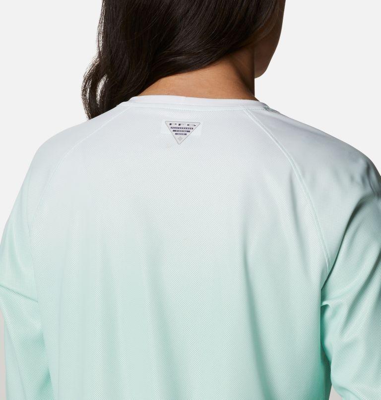 Tidal Deflector™ Long Sleeve | 322 | XS Women's PFG Tidal Deflector™ Long Sleeve Shirt, Kelp Gradient, a3
