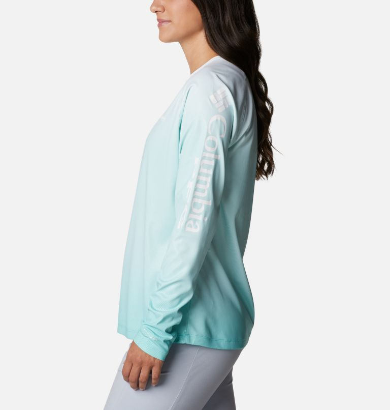 Tidal Deflector™ Long Sleeve | 357 | S Women's PFG Tidal Deflector™ Long Sleeve Shirt, Dolphin Gradient, a1