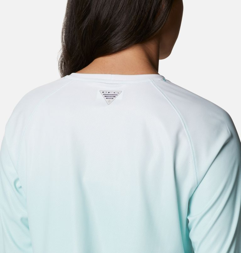 Tidal Deflector™ Long Sleeve | 357 | S Women's PFG Tidal Deflector™ Long Sleeve Shirt, Dolphin Gradient, a3