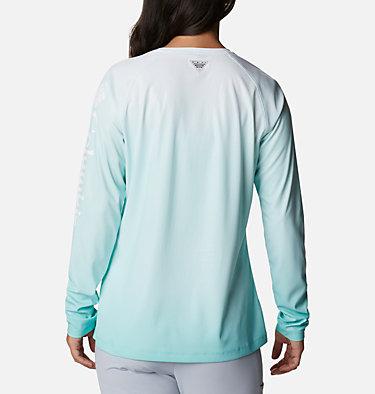 Women's PFG Tidal Deflector™ Long Sleeve Shirt Tidal Deflector™ Long Sleeve | 465 | M, Dolphin Gradient, back
