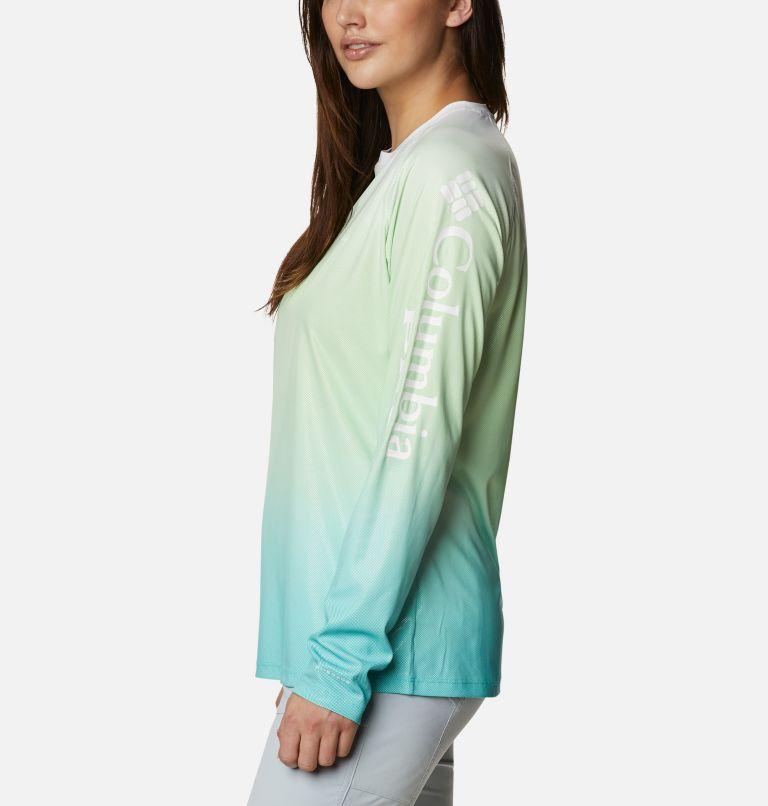 Tidal Deflector™ Long Sleeve   398   M Women's PFG Tidal Deflector™ Long Sleeve Shirt, Lime Glow Gradient, a1