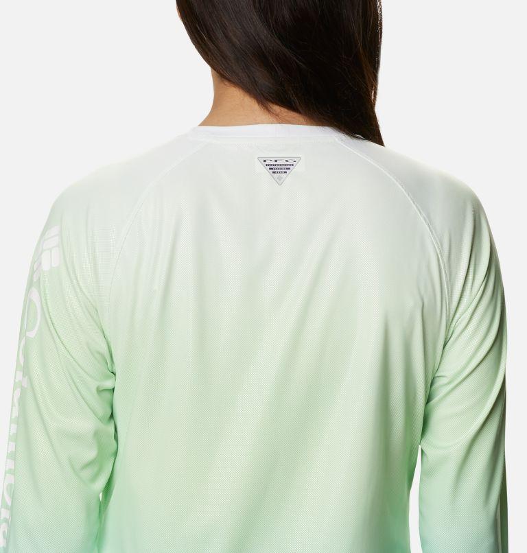 Tidal Deflector™ Long Sleeve   398   M Women's PFG Tidal Deflector™ Long Sleeve Shirt, Lime Glow Gradient, a3