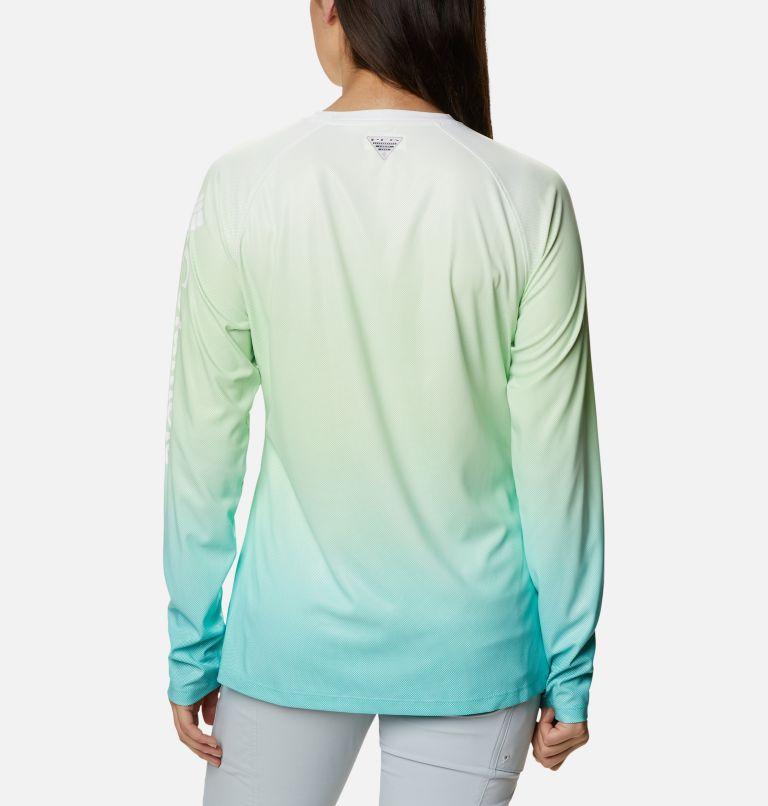 Tidal Deflector™ Long Sleeve   398   M Women's PFG Tidal Deflector™ Long Sleeve Shirt, Lime Glow Gradient, back