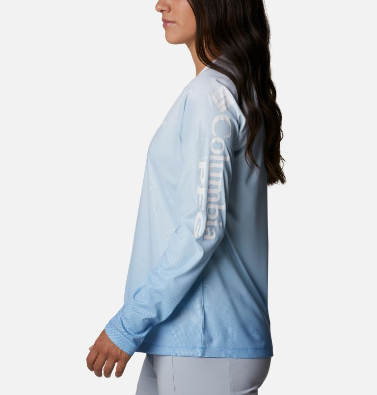 Tidal Deflector™ Long Sleeve | 465 | M Women's PFG Tidal Deflector™ Long Sleeve Shirt, Azure Blue Gradient, a1
