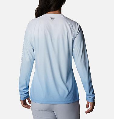 Women's PFG Tidal Deflector™ Long Sleeve Shirt Tidal Deflector™ Long Sleeve | 465 | M, Azure Blue Gradient, back
