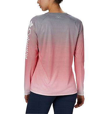 Women's PFG Tidal Deflector™ Long Sleeve Shirt Tidal Deflector™ Long Sleeve | 465 | M, Red Lily Gradient, back