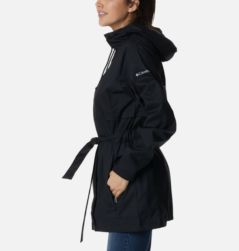 Pardon My Trench™ Rain Jacket | 010 | XL Women's Pardon My Trench™ Rain Jacket, Black, a1