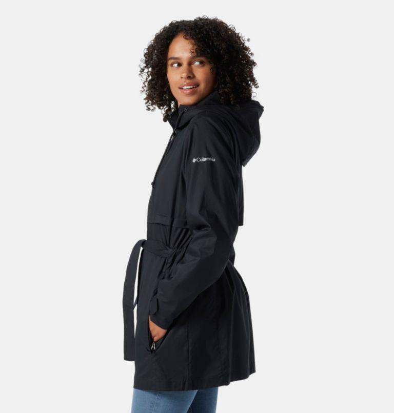 Pardon My Trench™ Rain Jacket | 010 | L Women's Pardon My Trench™ Rain Jacket, Black, a1