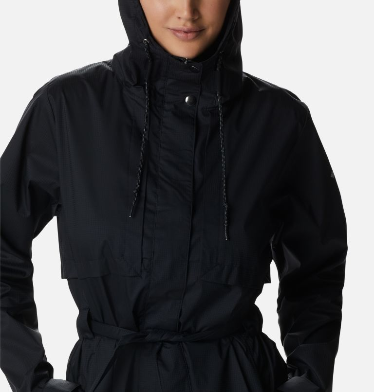 Pardon My Trench™ Rain Jacket | 010 | XL Women's Pardon My Trench™ Rain Jacket, Black, a2