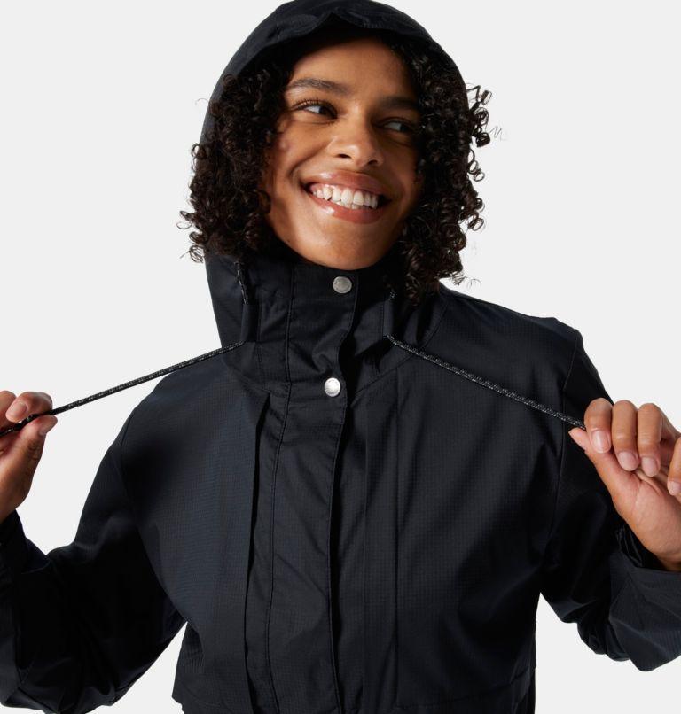 Pardon My Trench™ Rain Jacket | 010 | L Women's Pardon My Trench™ Rain Jacket, Black, a2