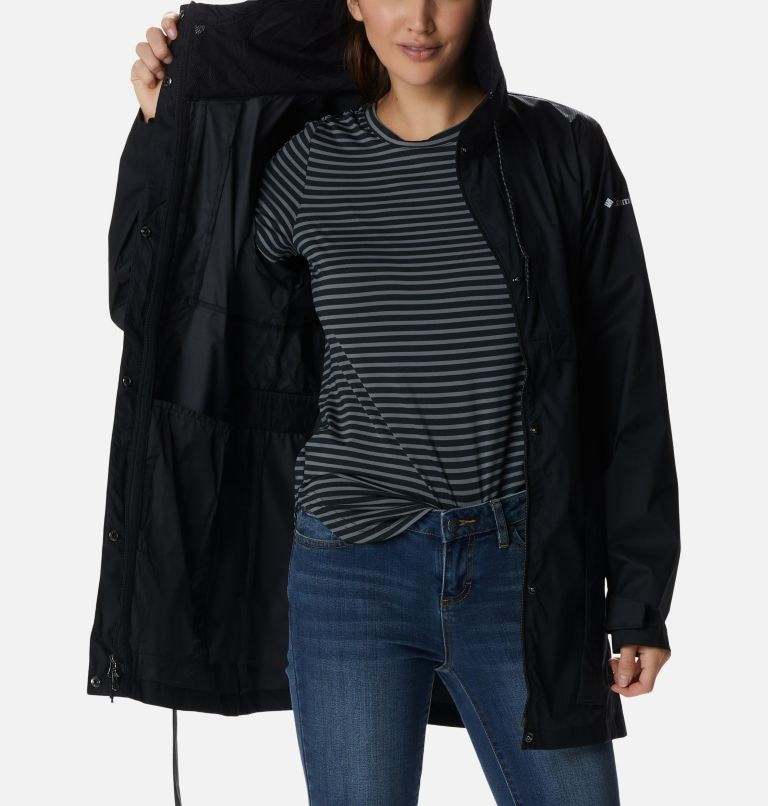 Pardon My Trench™ Rain Jacket | 010 | XL Women's Pardon My Trench™ Rain Jacket, Black, a3