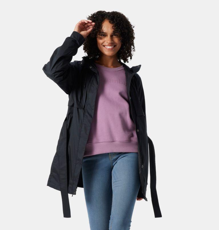 Pardon My Trench™ Rain Jacket | 010 | L Women's Pardon My Trench™ Rain Jacket, Black, a3