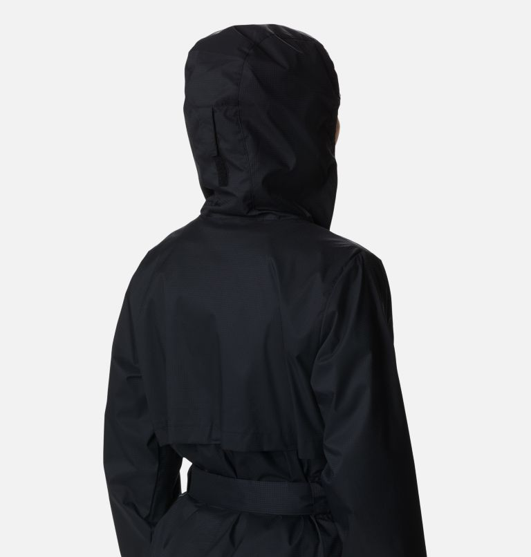Pardon My Trench™ Rain Jacket | 010 | L Women's Pardon My Trench™ Rain Jacket, Black, a4