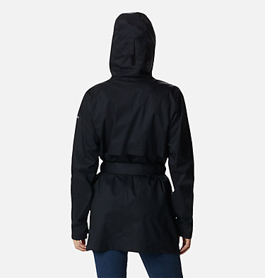 Women's Pardon My Trench™ Rain Jacket Pardon My Trench™ Rain Jacket | 458 | XS, Black, back