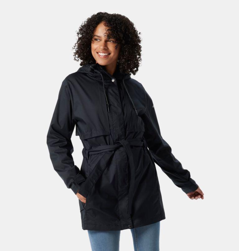 Pardon My Trench™ Rain Jacket | 010 | L Women's Pardon My Trench™ Rain Jacket, Black, front
