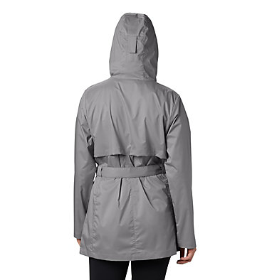 Women's Pardon My Trench™ Rain Jacket Pardon My Trench™ Rain Jacket | 458 | XS, City Grey, back