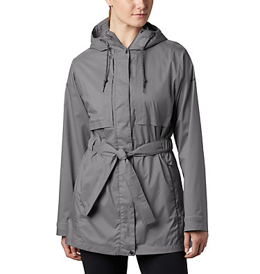 Women's Pardon My Trench™ Rain Jacket Pardon My Trench™ Rain Jacket | 458 | XS, City Grey, front