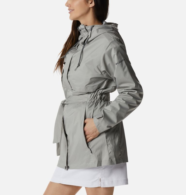 Pardon My Trench™ Rain Jacket | 027 | L Women's Pardon My Trench™ Rain Jacket, Flint Grey, a1