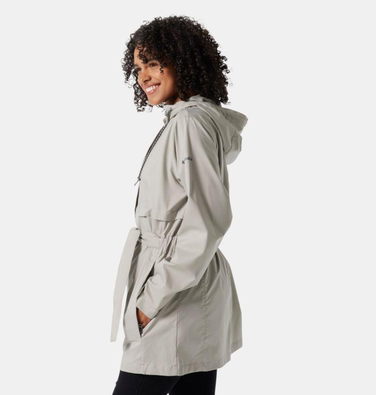 Pardon My Trench™ Rain Jacket   027   XL Women's Pardon My Trench™ Rain Jacket, Flint Grey, a1