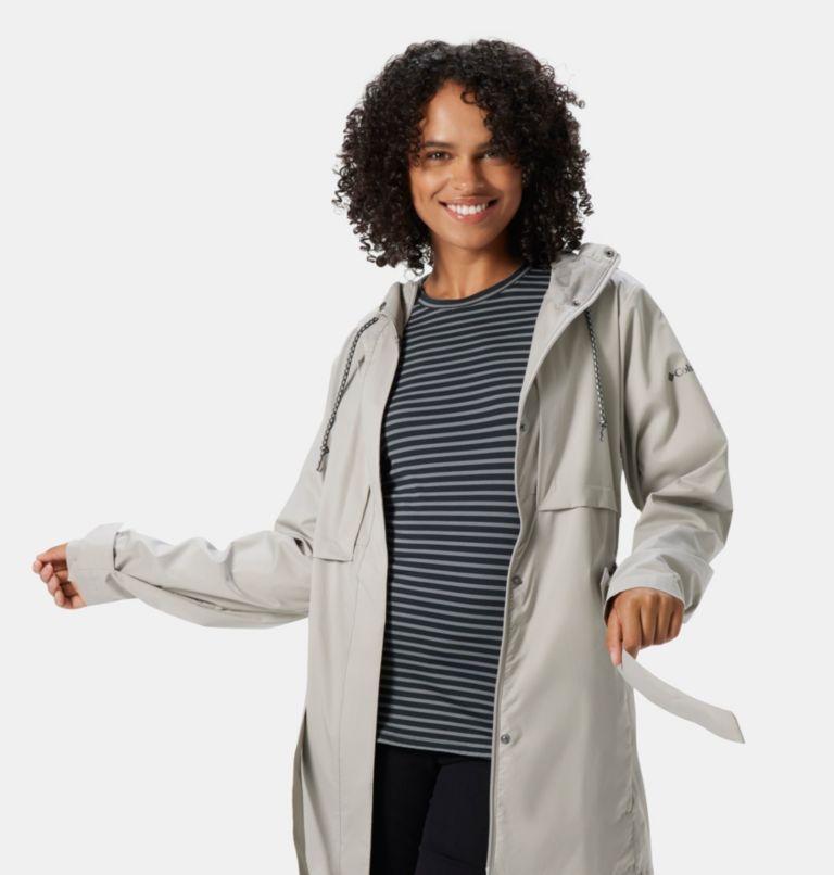 Pardon My Trench™ Rain Jacket   027   XL Women's Pardon My Trench™ Rain Jacket, Flint Grey, a3