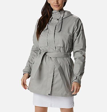 Women's Pardon My Trench™ Rain Jacket Pardon My Trench™ Rain Jacket | 458 | XS, Flint Grey, front