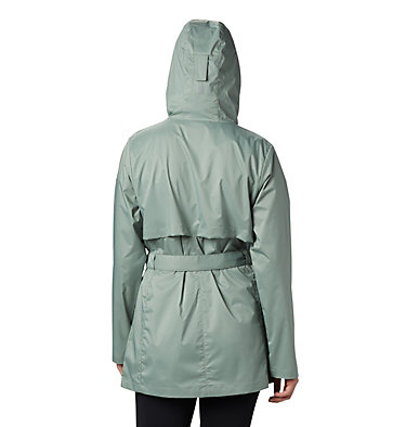Veste de pluie Pardon My Trench™ pour femme Pardon My Trench™ Rain Jacket | 305 | L, Light Lichen, back