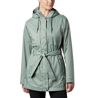 Women's Pardon My Trench™ Rain Jacket Pardon My Trench™ Rain Jacket | 305 | L, Light Lichen, front