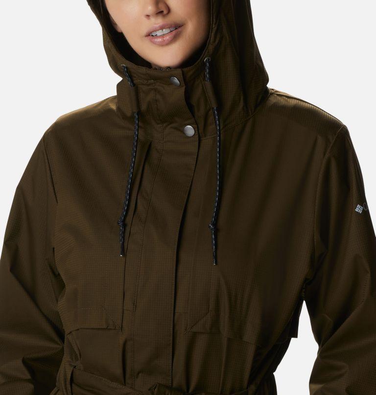 Pardon My Trench™ Rain Jacket   319   M Women's Pardon My Trench™ Rain Jacket, Olive Green, a2