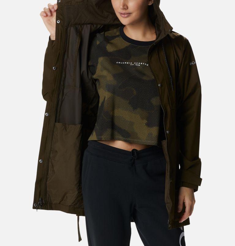 Pardon My Trench™ Rain Jacket   319   M Women's Pardon My Trench™ Rain Jacket, Olive Green, a3