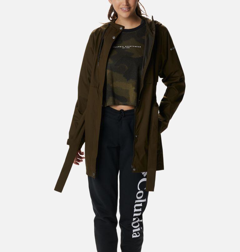 Pardon My Trench™ Rain Jacket   319   M Women's Pardon My Trench™ Rain Jacket, Olive Green, a5