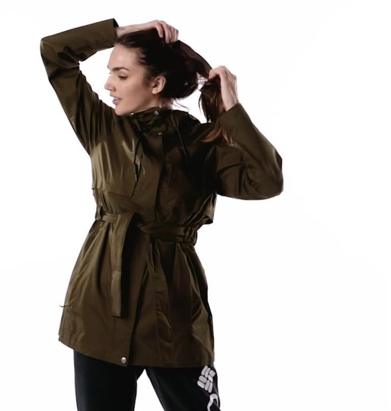 Women's Pardon My Trench™ Rain Jacket Women's Pardon My Trench™ Rain Jacket, video