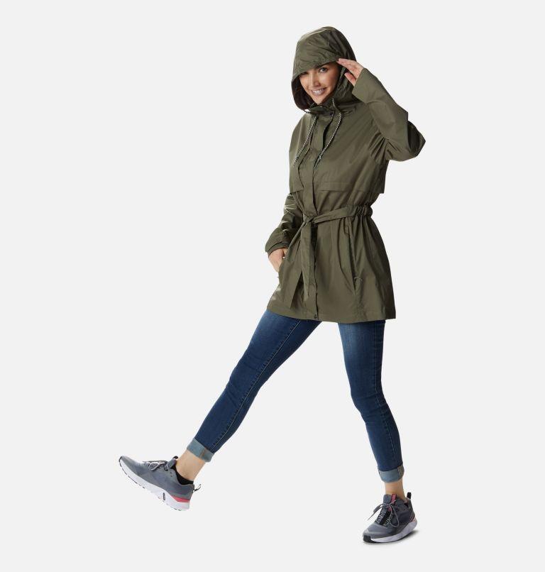 Pardon My Trench™ Rain Jacket   397   XL Women's Pardon My Trench™ Rain Jacket, Stone Green, a1