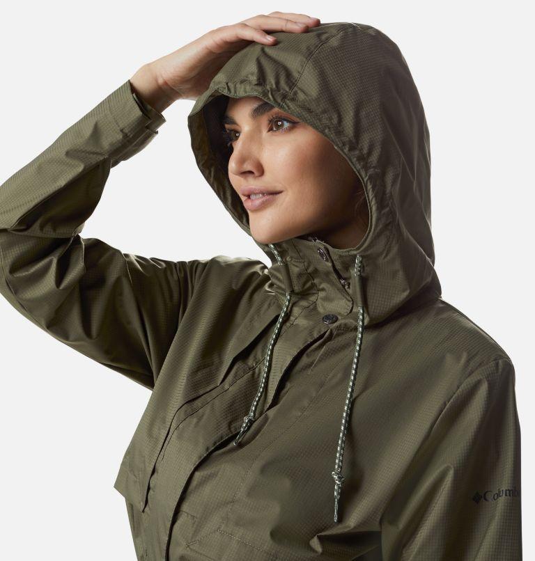 Pardon My Trench™ Rain Jacket   397   XL Women's Pardon My Trench™ Rain Jacket, Stone Green, a2