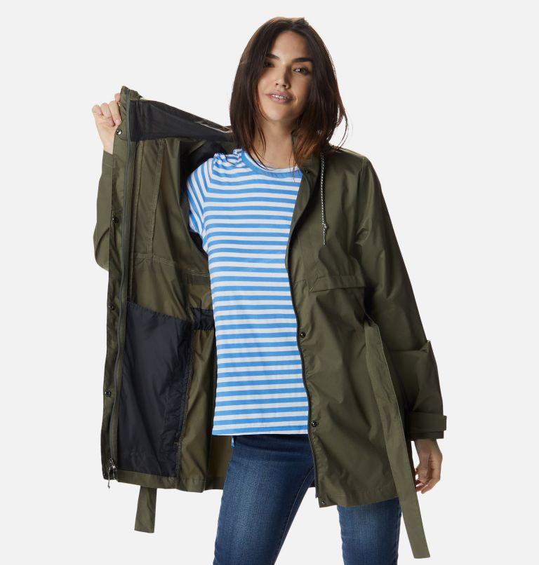 Pardon My Trench™ Rain Jacket   397   XL Women's Pardon My Trench™ Rain Jacket, Stone Green, a3