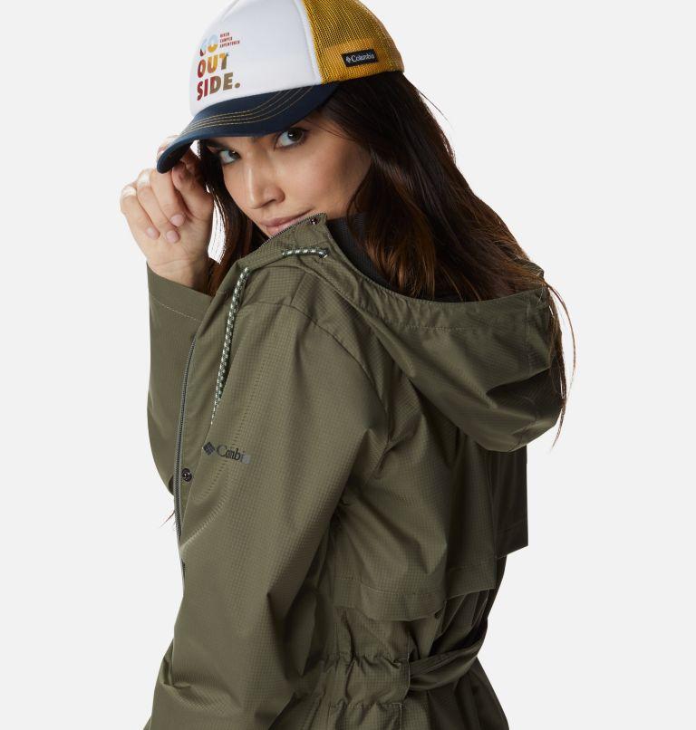 Pardon My Trench™ Rain Jacket   397   XL Women's Pardon My Trench™ Rain Jacket, Stone Green, a4