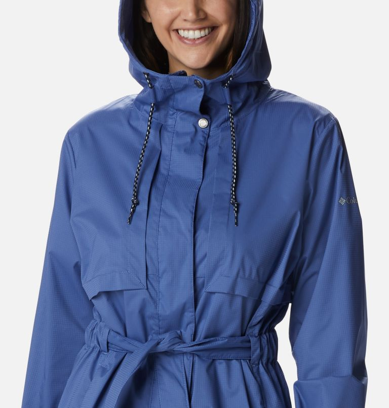 Pardon My Trench™ Rain Jacket | 458 | M Women's Pardon My Trench™ Rain Jacket, Velvet Cove, a2