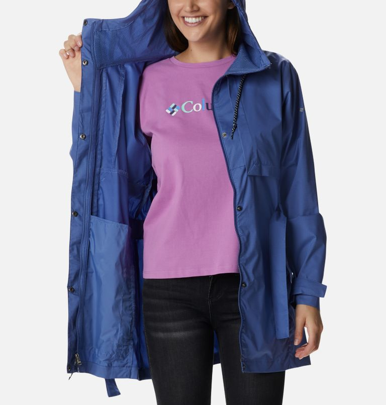 Pardon My Trench™ Rain Jacket | 458 | M Women's Pardon My Trench™ Rain Jacket, Velvet Cove, a3