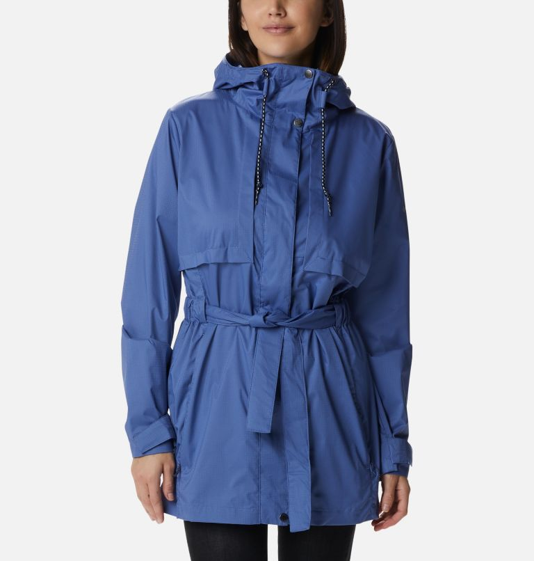 Pardon My Trench™ Rain Jacket | 458 | M Women's Pardon My Trench™ Rain Jacket, Velvet Cove, front