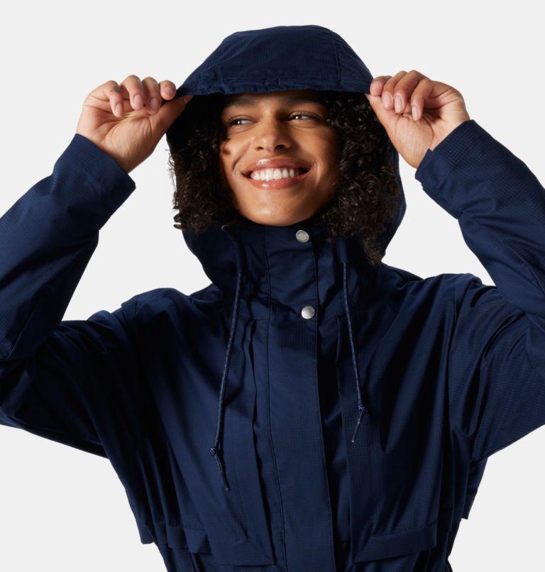 Pardon My Trench™ Rain Jacket | 472 | L Women's Pardon My Trench™ Rain Jacket, Dark Nocturnal, a2
