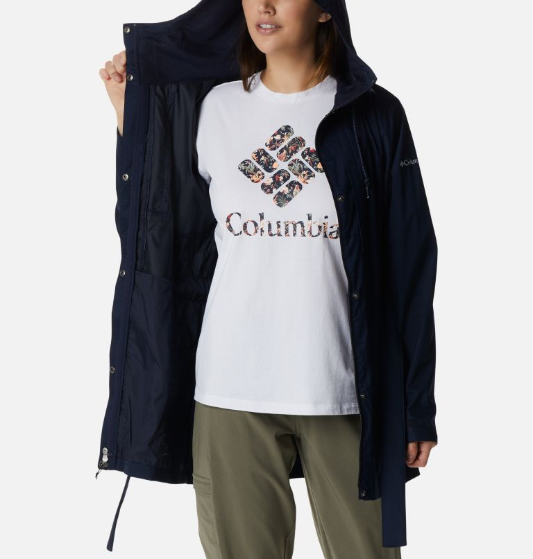 Pardon My Trench™ Rain Jacket | 472 | L Women's Pardon My Trench™ Rain Jacket, Dark Nocturnal, a3