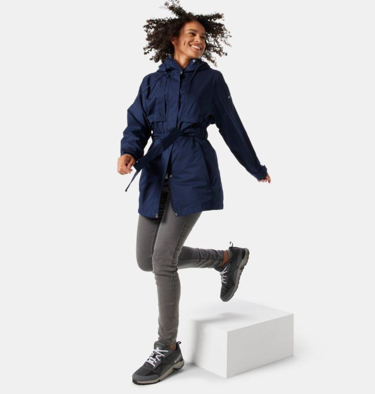 Pardon My Trench™ Rain Jacket   472   XL Women's Pardon My Trench™ Rain Jacket, Dark Nocturnal, a3