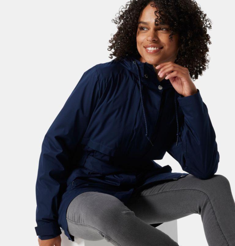 Pardon My Trench™ Rain Jacket | 472 | XS Women's Pardon My Trench™ Rain Jacket, Dark Nocturnal, a4