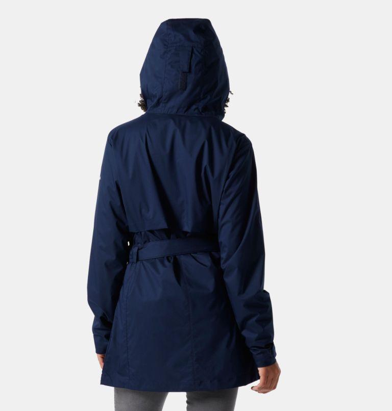 Pardon My Trench™ Rain Jacket | 472 | L Women's Pardon My Trench™ Rain Jacket, Dark Nocturnal, back