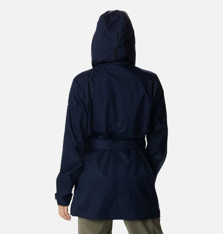 Pardon My Trench™ Rain Jacket   472   XL Women's Pardon My Trench™ Rain Jacket, Dark Nocturnal, back
