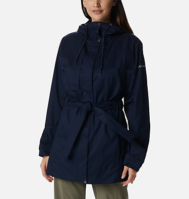 Women's Pardon My Trench™ Rain Jacket Pardon My Trench™ Rain Jacket | 458 | XS, Dark Nocturnal, front
