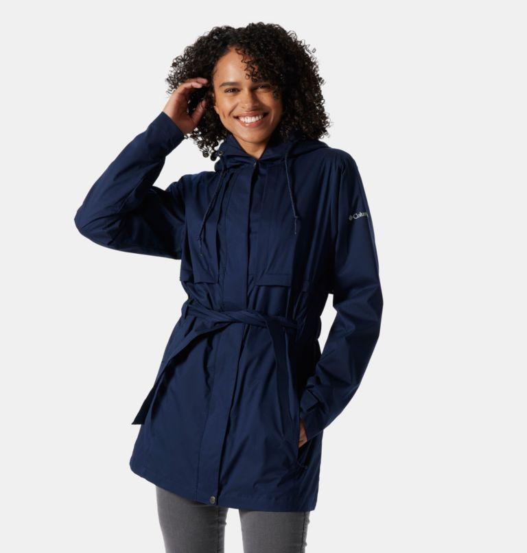 Pardon My Trench™ Rain Jacket   472   L Women's Pardon My Trench™ Rain Jacket, Dark Nocturnal, front